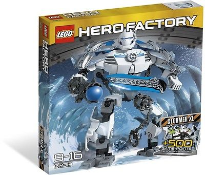 LEGO Hero Factory STORMER XL - 6230 -  Ages 8 - 16 ~ RETIRED